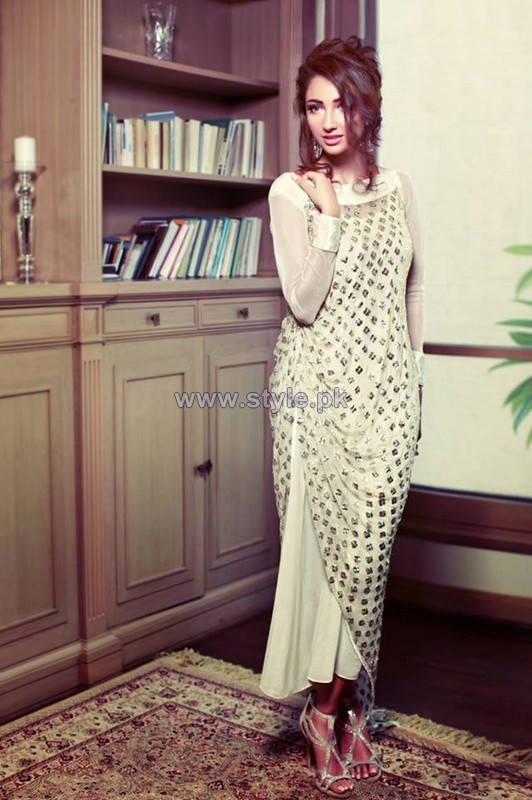 Yasmeen Jiwa Party Dresses 2014 For Girls 4