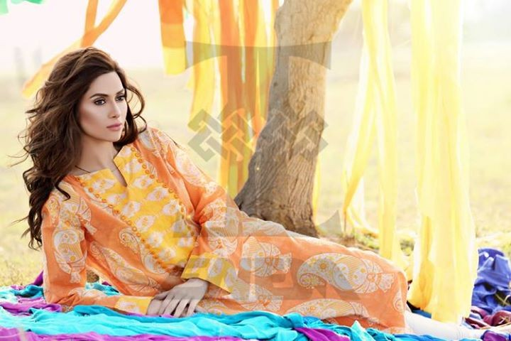 Zahra Saeed Summer Dresses 2014 for Women