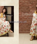 Ayesha Ahmed Eid Summer Dresses 2014 For Women 4