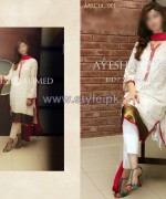Ayesha Ahmed Eid Summer Dresses 2014 For Women 5