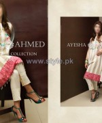 Ayesha Ahmed Eid Summer Dresses 2014 For Women 6
