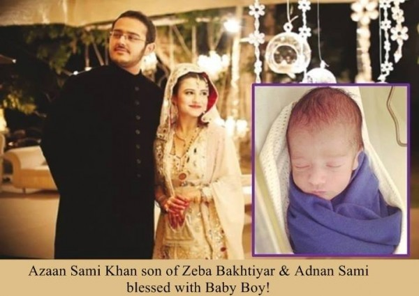 Azaan Sami Khan Has Blessed With A Baby Boy pic 01