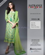 Bonanza Satrangi Eid Dresses 2014 For Girls 3