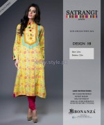 Bonanza Satrangi Eid Dresses 2014 For Women 6