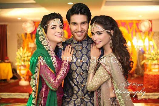 Dua Malik And Sohail Mehndi And Wedding Pictures