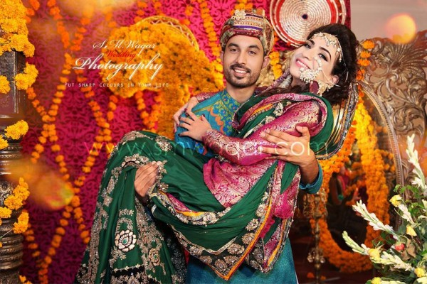 Dua Malik Mehndi And Wedding Pictures 05