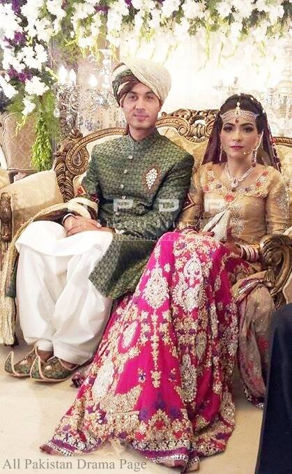 Dua Malik Mehndi And Wedding Pictures 11