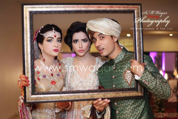 Dua Malik Mehndi And Wedding Pictures 12