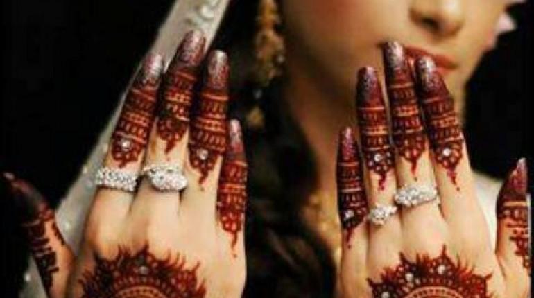 Mehndi Designs For Hands For Engagement : Engagement mehndi designs for women