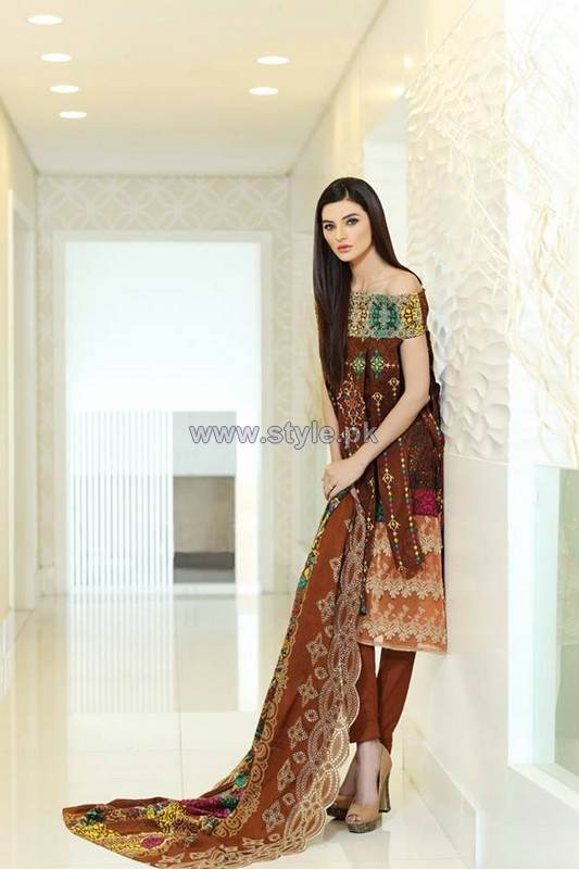 Firdous Fashion Julie Lace Dresses 2014 For Women 7