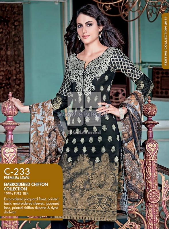 Gul Ahmed Festive Collection 2014 For Eid-Ul-Fitr 13