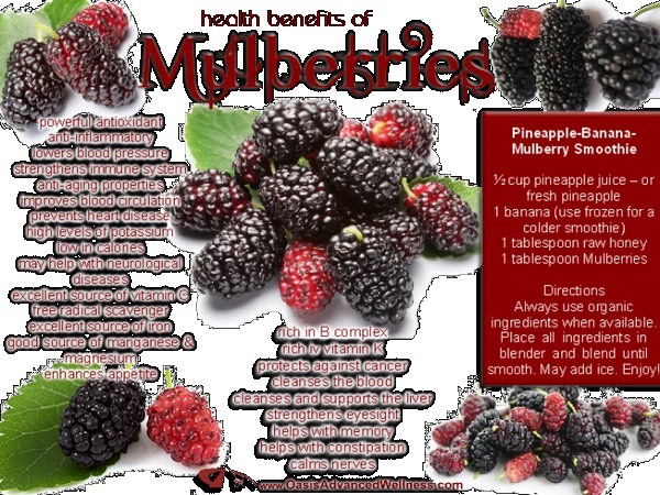 Healthy Benefits To Eat Delicious Mulberries
