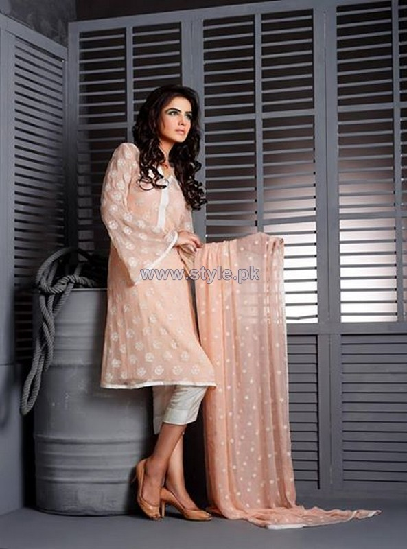 Image Fabrics Eid Dresses 2014 For Women 6