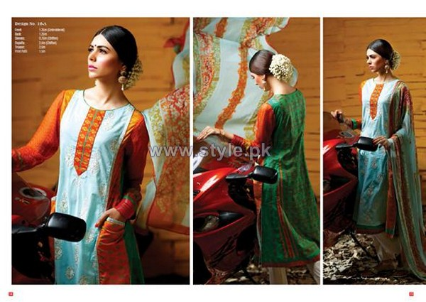 Ittehad Textiles Eid-Ul-Fitr Dresses 2014 For Women 8