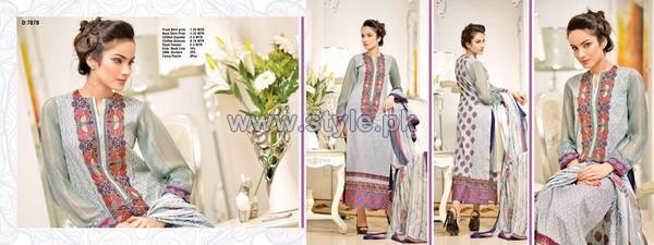 Jubilee Cloth Mills Eid Dresses 2014 For Women 9