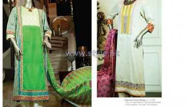Junaid Jamshed Eid Dresses 2014 For Women 14