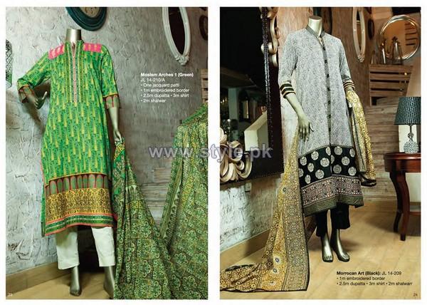 Junaid Jamshed Eid Dresses 2014 For Women 9