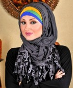 Latest Hijab Designs 2014 For Ramadan 0010