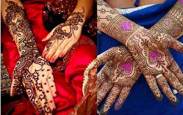 Loved Heart Mehndi Designs For Women 0012