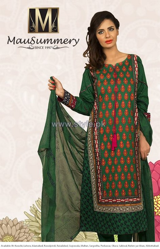 Mausummery Eid Dresses 2014 For Women 10