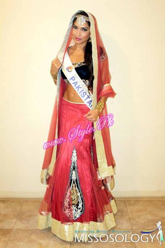 Miss Asia Pacific International 2014 - national costume copy