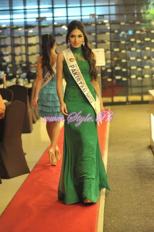 Miss Asia Pacific International 2014- shanzay