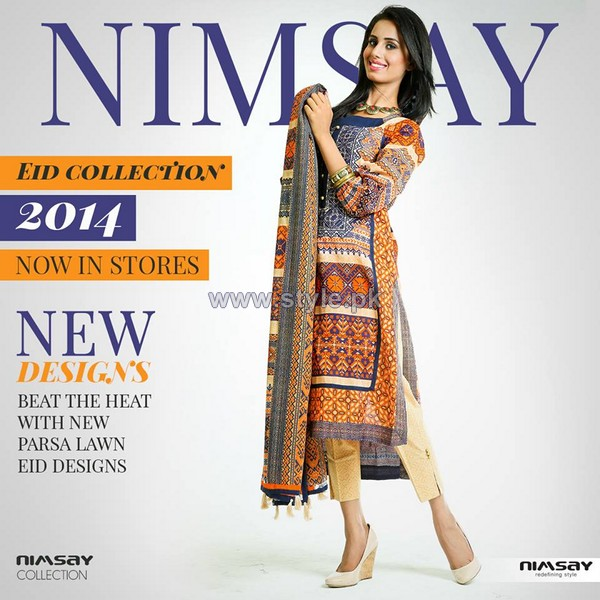Nimsay Eid-Ul-Fitr Dresses 2014 For Women 7