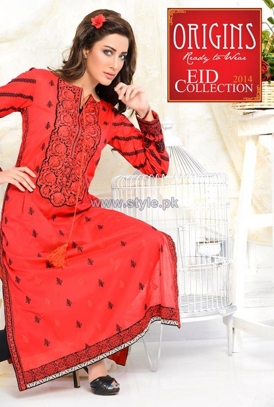 Origins Eid-Ul-Fitr Dresses 2014 For Women 4