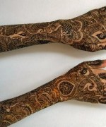Punjabi Mehndi Designs 2014 For Women 0019