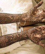 Punjabi Mehndi Designs 2014 For Women 006