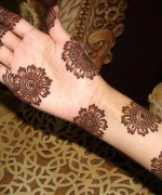 Round Mehndi Designs 2014 For Women 001