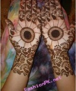 Round Mehndi Designs 2014 For Women 0010