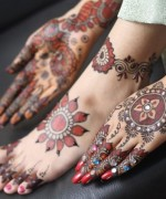 Round Mehndi Designs 2014 For Women 0011