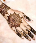 Round Mehndi Designs 2014 For Women 0013