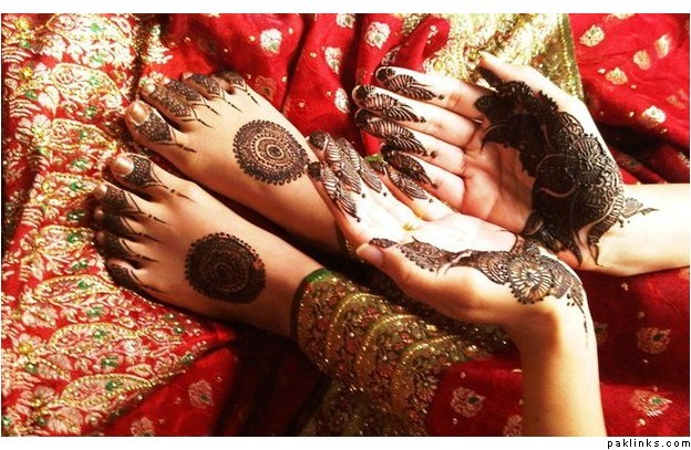 Round Mehndi Designs 2014 For Women 008