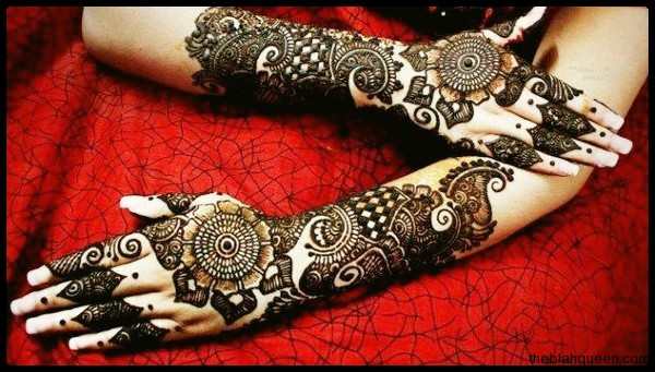 Round Mehndi Designs 2014 For Women 009
