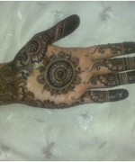 Round Mehndi Designs 2014 For Women