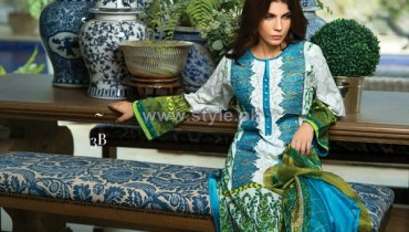 Sana Safinaz Eid Lawn Dresses 2014 For Women 7