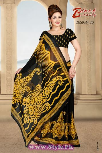 Saree Colors For Girls Summer 2014 (19)