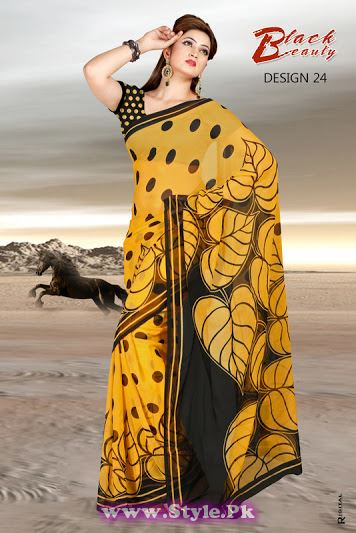 Saree Colors For Girls Summer 2014  (23)