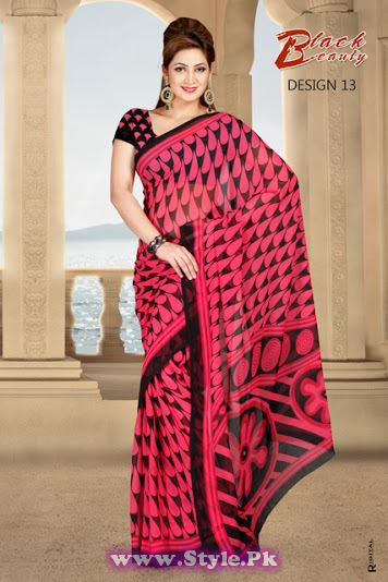 Saree Colors For Summer 2014 (12)