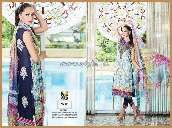 Shaista Cloth Eid Dresses 2014 For Women 10