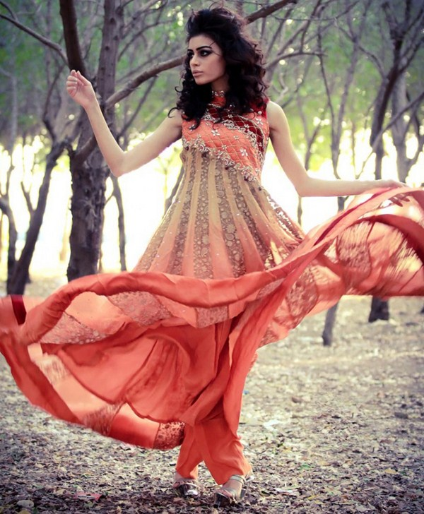 Trends Of Double Shaded Dresses In Summer Season 001
