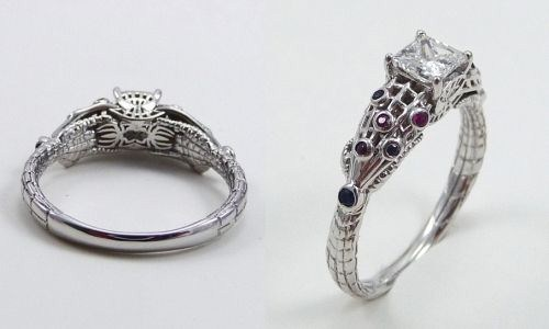 trends of geeky wedding rings 2014 for women