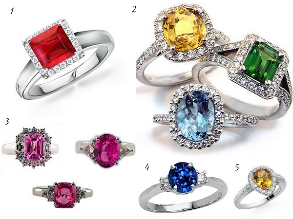 Trends Of Gem Stones Rings For Women