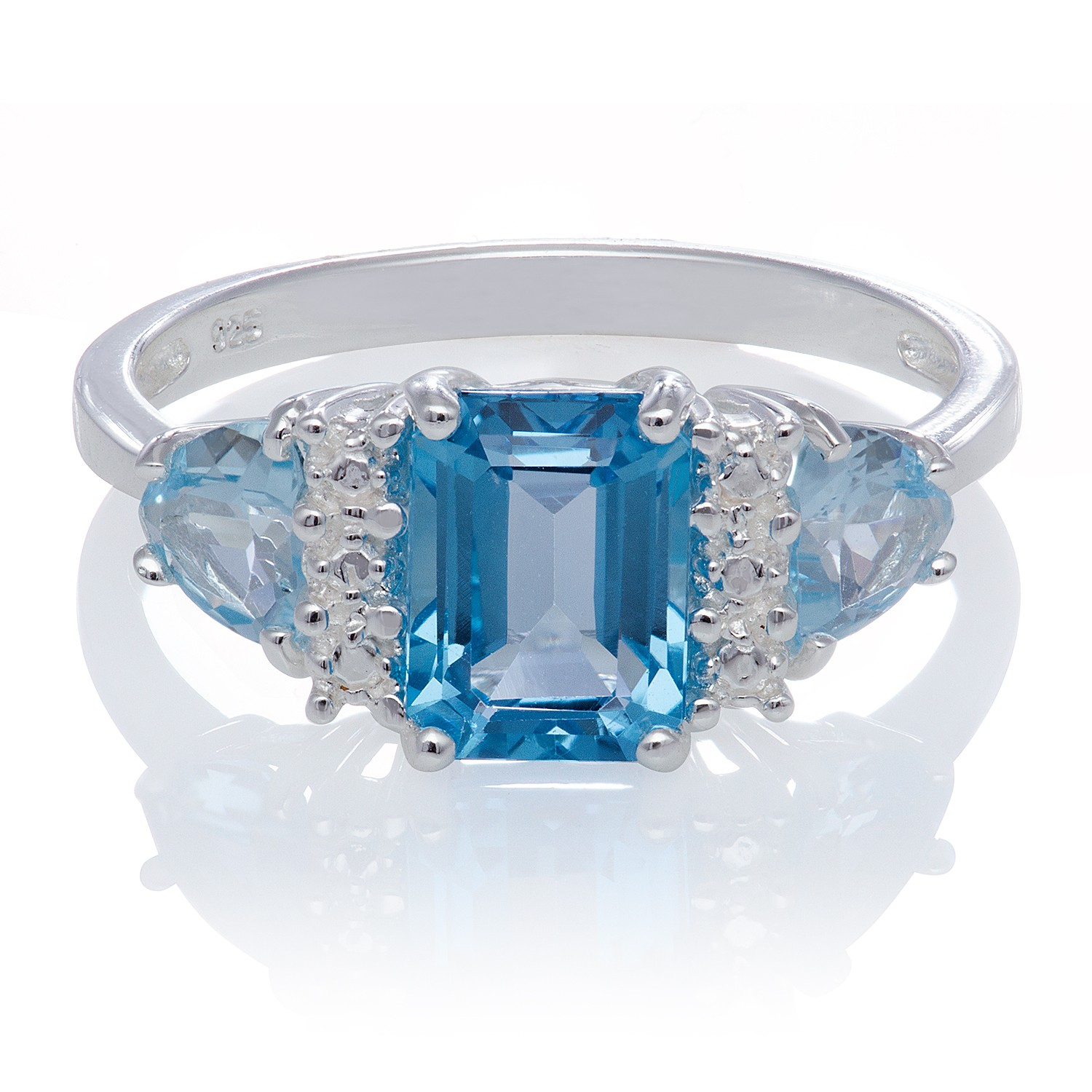 Blue Wedding Ring 72 Great Trends Of Stone Beaded