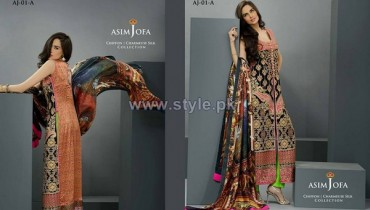 Asim Jofa Silk Dresses 2014 For Eid-Ul-Fitr 9
