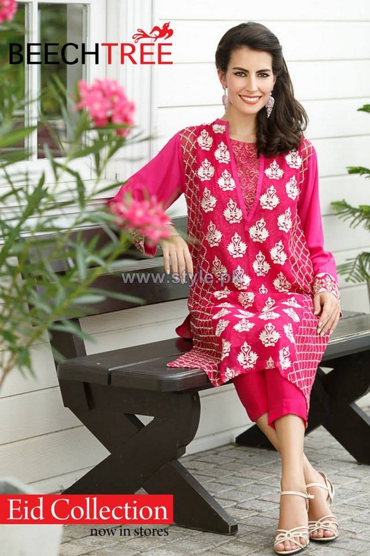 Beech Tree Eid Dresses 2014 For Girls 1