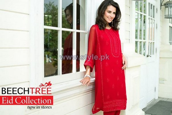 Beech Tree Eid Dresses 2014 For Girls 4