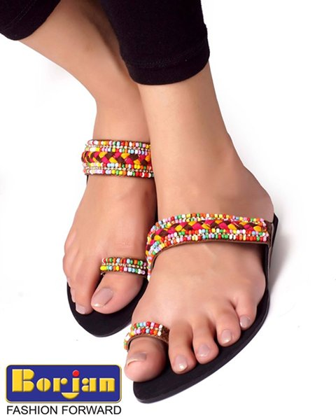 Borjan Shoes Eid Footwear Collection 2014 For Women 0011